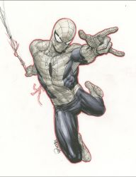 Man-Spider by RansomGetty