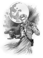 Peter Quill aka Star Lord by 93Cobra
