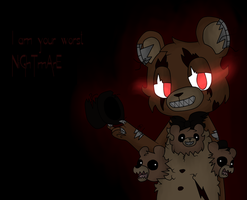NiGhTmArE by OneGiantNostril