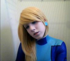 Samus Zero Suit 2 Cosplay- Metroid by sasukelove207