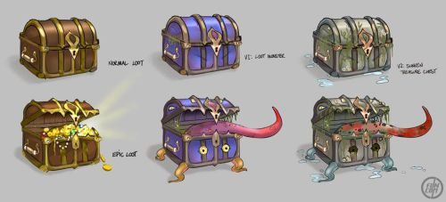 Loot 'Mimic' Monsters by Vermin-Star