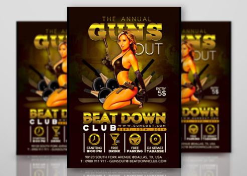 Annual Guns Out Party by n2n44studio