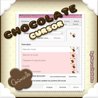 Chocolate Cursor Animado OwO by marusitaneko