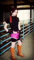 Raccoon's Survivor-RE2 Claire Redfield Cosplay by Hamm-Sammich