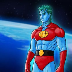 Captain Planet by thefuturesteve