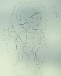 Emily the Echidna sketch (WIP)  by ShadAmyfangirl129
