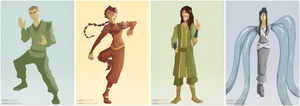 Legend of Korra: Red Lotus by cayiika