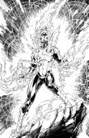 Firestorm inks by benjonesart
