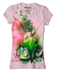 Glass Butterflies Tee by camilladerrico
