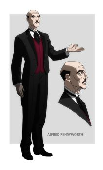 YOUNG JUSTICE: ALFRED PENNYWORTH by Jerome-K-Moore