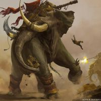 War Elephant by ISOTXART