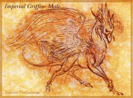 Imperial Griffin by Kaljaia