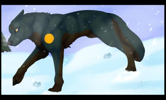 Rinth in the snow by Shockley23