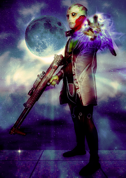 Thane Krios Mass Effect 2 Cosplay: Pull by ManticoreEX