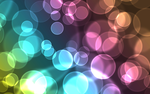 Coloured Bubbles Widescreen by Too-Fast