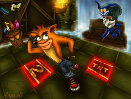 Crash Bandicoot Boss: Ripper Roo by Scorpion-Ermac-MK
