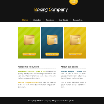 Boxing Company Template by apokalypseAT