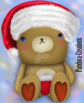 Little-Bear-Xmas DA Pandora-Creations by Pandora-Creations