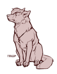 Jag the Wolfshep by fralea