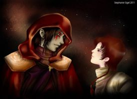 Sith and Padawan by RiaStarchild