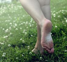 day twelve, dirty feet by kirstenbeth