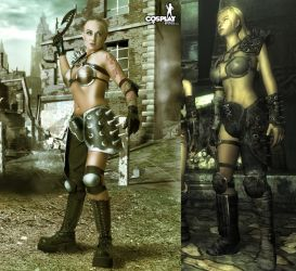 Fallout raider for Athos83 by cosplayerotica