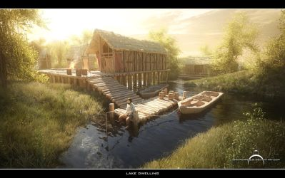 Lake Dwelling by IgnisFerroque