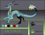 Character Sheet- Octavia by digital-blood