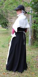 Nonesuch Market Woman Back View by CenturiesSewing