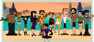Total Drama The New Island by Lets-Get-Saiko