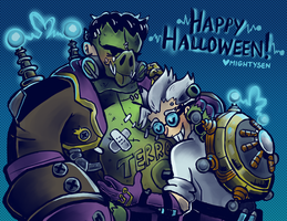 Junkenstein's Proudest Creation by sendoki