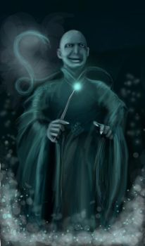 Lord Voldemort by NoinHvainHtain