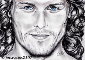 Sam Heughan, he is my Jamie by jos2507