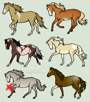 Cheap Point Sale | Equine Adopts - OPEN by LyricTheMare