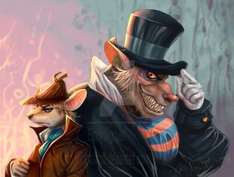 GMD -- Basil and Ratigan by emilynguyenart