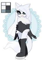 [ Auction ] Arctic Fox Adoptable [ Closed ] by trashymatsu