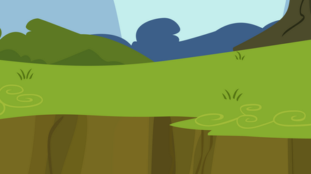 Grass Ledge Background by anitech