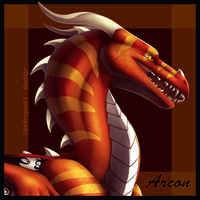 Gift / Redraw - Arconicus Icon by FireDragon97