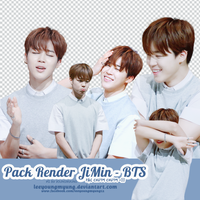 [150701] JIMIN - RENDER PACK by Leeyoungmyung