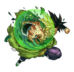 Broly by Tomycase