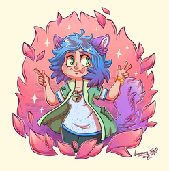 Draw this in your style - challenge 1 by Lumary92