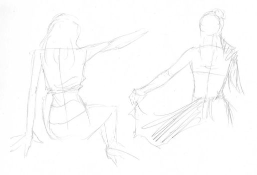 Dr Sketchy's 16-8-11 by broken-toy