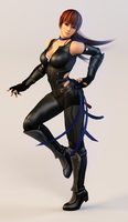 Kasumi 3DS Render 3 by x2gon