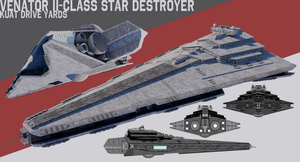 [StarWars] Venator II-class Star Destroyer by TheoComm