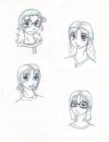 Japanese project drawings by Doodlebotbop