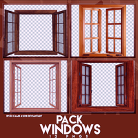 PACK PNGS: Windows | ByunCamis by fairyixing