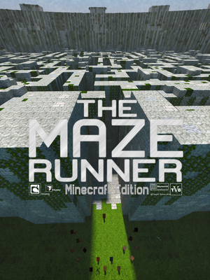 Minecraft Maze Runner poster by skysworld