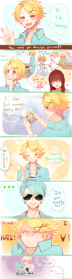 Yoosung's Introduction by ksmile1313