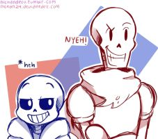 Alot of puns and NYEHs going on by nichandesu