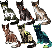 Cats 2 Mini-auction by GalaxXXxyCat